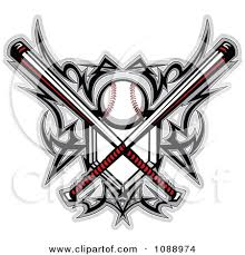 softball tattoos clipart tribal baseball home plate with crossed