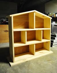 Best Wood To Build A Bookcase How To Build A Dollhouse Part 2 Decorating It Young House Love