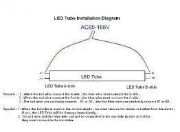 rewire fluorescent light for led led tubes