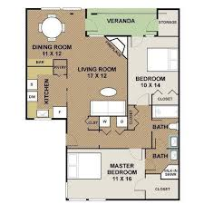 Sorrento Floor Plan Douglaston Villas And Townhomes Apartments In Altamonte Springs