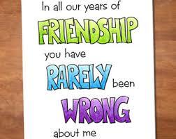 funny birthday card for best friend handmade birthday card