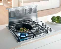 Ge Gas Cooktop Reviews Kitchen Top Gas Cooktop With Downdraft Ventilation System 30 Inch