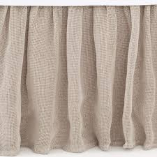 linen mesh natural bedspread pine cone hill