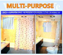 Plastic Shower Curtain Rod Look At This Plastic Shower Curtain Rod Curved Shower Curtain Rod