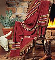 Western Throw Rugs Santa Fe Tapestry Southwest Throw Blankets