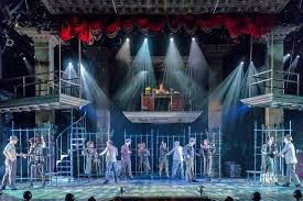 chicago production drury chicago makes media a target in flashy production