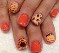 60 best thanksgiving nail designs images on