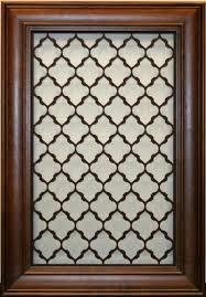 decorative metal cabinet door inserts decorative cabinet doors kitchen traditional kitchen idea in