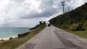 driving in antigua curtain bluff to darkwood beach youtube