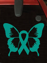 teal ribbons 12 best teal ribbon decals images on vinyl decals