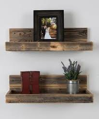 Pallet Floating Shelves by Stacy Of Not Just A Housewife Is No Stranger To Challenging Home