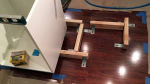 how do you attach island cabinets to the floor ikea kitchen island install dailymotion