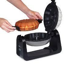 cake maker elite cuisine ecm 2919 maxi matic flip bundt cake maker black