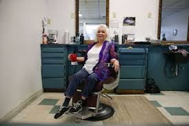john klein 44 year barber laverne harmer among first women to
