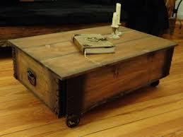 Wohnzimmer Tisch Holzkiste Couchtische Industrial Couchtisch Truhe Vintage Frachtkiste