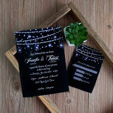 jar wedding invitations string light jar wedding invitation ewi398 as low