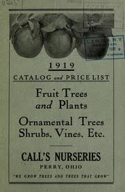 1920 catalog and price list fruit trees and plants ornamental