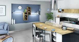 habillage mur cuisine 7 idées pour intégrer des niches et des rangements ouverts dans