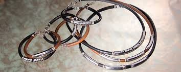 men necklace leather images Mens jewelry mens silver jewelry leather necklace jpg