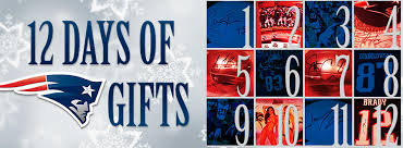 12 days of patriots gifts new patriots