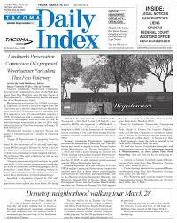 Bcra Tacoma by Tacoma Daily Index March 20 2015 By Sound Publishing Issuu