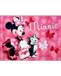 Large Pink Area Rug Don U0027t Miss This Deal On Disney Minnie Mouse Rug W Figaro Cat Hd