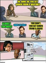 Board Meeting Meme - jedi board meeting memes imgflip