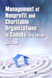 management of nonprofit and charitable organizations in canada