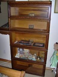 Globe Wernicke Bookcase 299 Missed Out On This One Macey Half Size With Leaded Glass