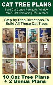 Free Diy Cat Tree Plans by Best 25 Homemade Cat Trees Ideas On Pinterest Homemade Cat Toys