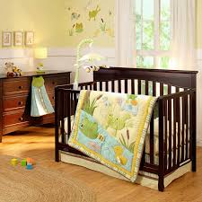 Jungle Themed Nursery Bedding Sets by Amazon Com Carter U0027s Pond Collection 4 Piece Crib Set Baby