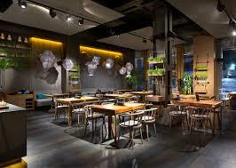 restaurant decor attractive restaurant decor in kiev by yod design studio interiorzine