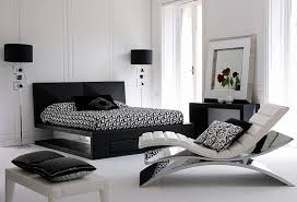 Modern Bedroom Designs In Black And White Color Palette - White color bedroom design