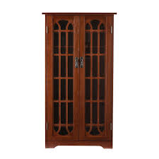 southern enterprises china cabinet southern enterprises oak media storage ms1074t the home depot