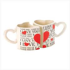 heart shaped mugs that fit together cly sher gifts