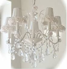 Child Chandelier Decorating Shabby Chic With Black Cream And Rose Colors Shabby