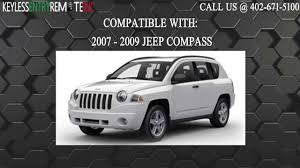 compass jeep 2009 how to replace jeep compasskey fob battery 2007 2008 2009 youtube