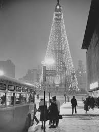 1960 s christmas tree lights downtown indy 1960 s indiana state capitol pinterest 1960s