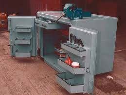 Heavy Duty Steel Cabinets Workbenches Heavy Duty Highly Secure 3mm Steel Cabinet Based