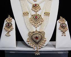 wedding jewellery sets pearl rani haar indian wedding jewellery set bridal indian
