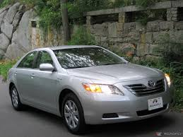 silver 2007 toyota camry mpg best car to buy