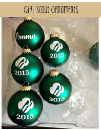 scout ornaments for