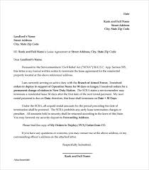 landlord lease termination letter sample early lease termination
