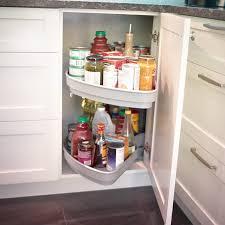 armoire en coin cuisine cuisines beauregard accessoire système de rangement