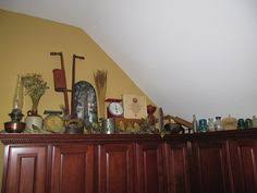 Decorating Above Kitchen Cabinets Pictures by Mason Jars Above Kitchen Cabinets I Love Collections New House