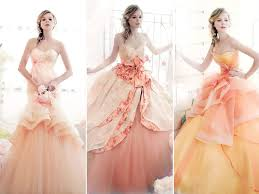 the 25 best peach gown ideas on pinterest peach wedding dresses