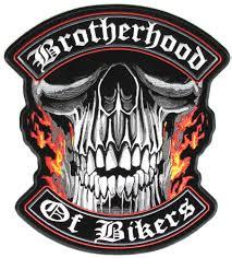 biker vest brotherhood of bikers large vest biker patch biker patches
