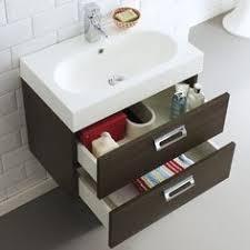 Roca Bathroom Vanity Units Roca Debba 600mm Compact Vanity C W Basin 2 Drawer Gloss