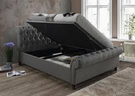 Birlea Ottoman 5ft Kingsize Ottoman Bed Grey