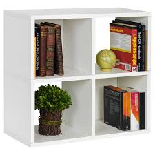 way basics eco 4 cubby bookcase stackable organizer and storage